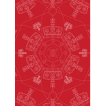 Crown Regency Red Blackout Designer Blinds